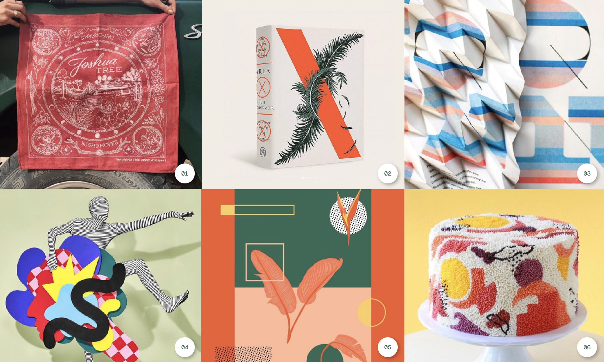 6 images to highlight designer work